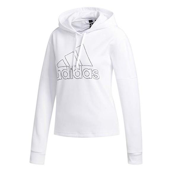 adidas Womens Athletics Team Issue Pullover Hoodie NWT
